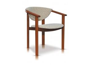 Fotel, krzesło z podłokietnikiem F1