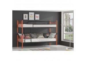 ENERGY metalowe łóżko piętrowe rozstawne 2 w 1