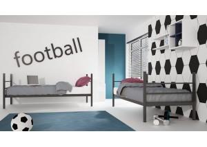 GALAXY metalowe łóżko piętrowe rozstawne 2 w 1
