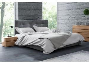DAKOTA Kryształki łóżko tapicerowane