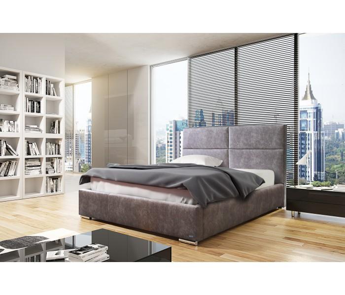 Łóżko do sypialni minimalistycznej
