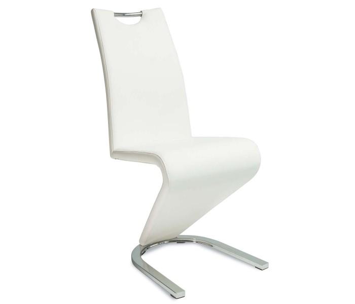 Nowoczesne krzesło tapicerowane piorun