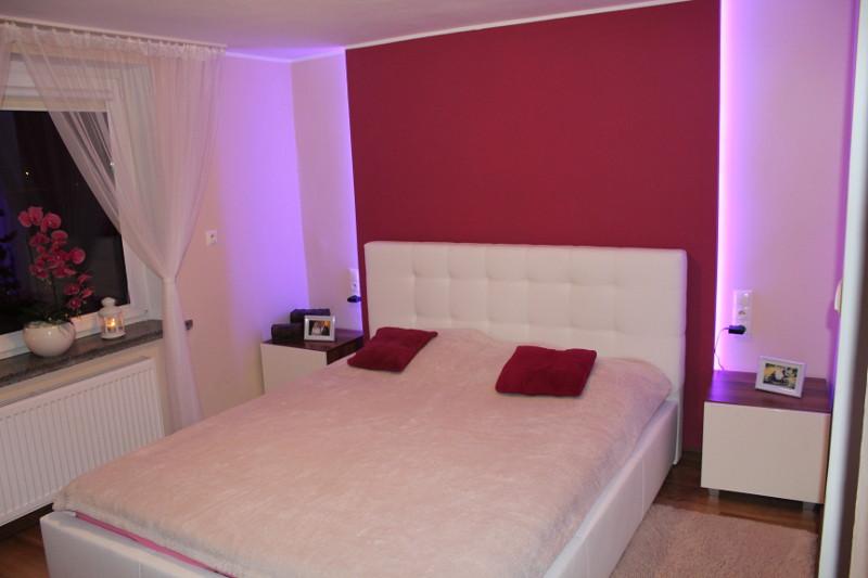 Aranżacja 2 sypialni z łóżkiem z naszej produkcji
