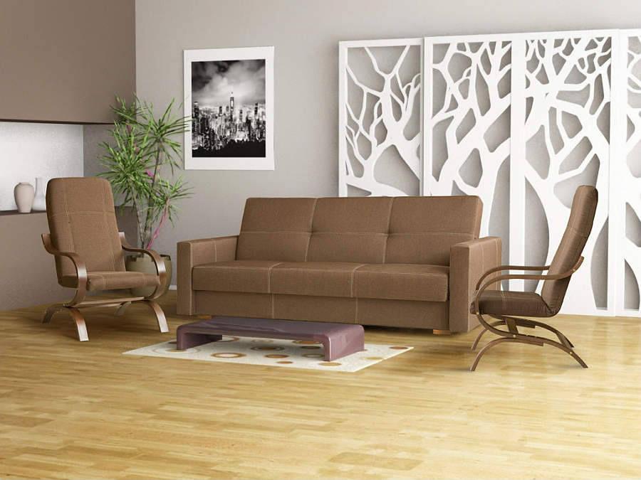 Zestaw kanapy + fotele