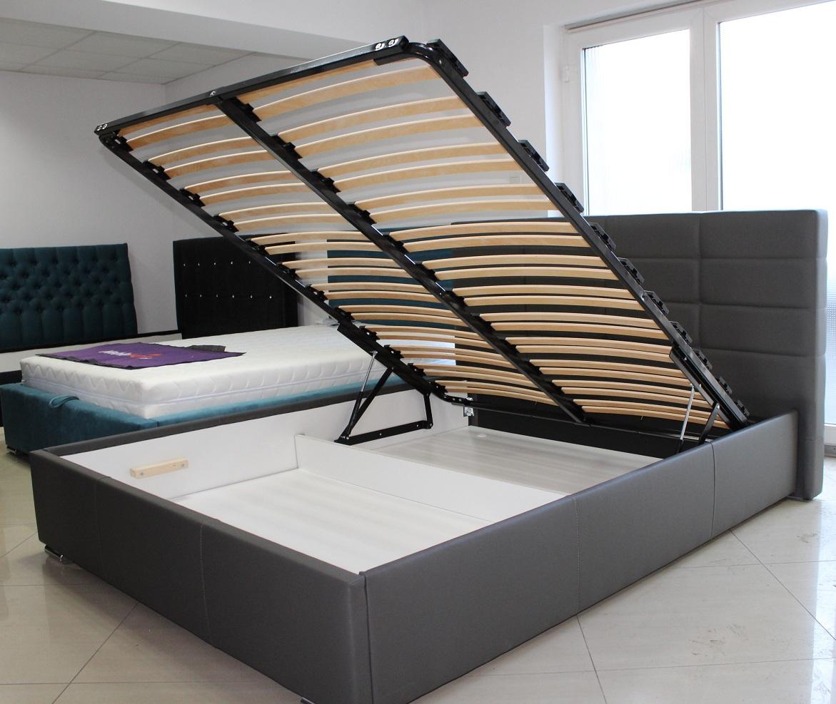 Praktyczne łóżko Z Pojemnikiem Na Pościel Meblehotpl