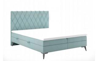 Łóżko tapicerowane kontynentalne EROS