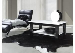 Nowoczesne ławy do salonu z półką T25