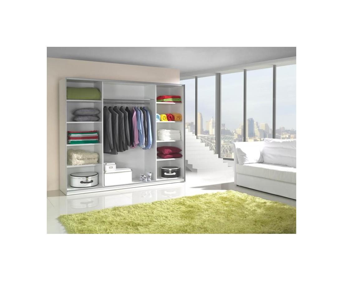 nowoczesne meble do sypialni bia�y czarny po�ysk lux 1