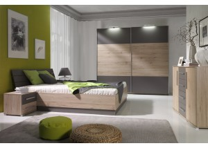 Sypialnia Dione - meble do nowoczesnej sypialni