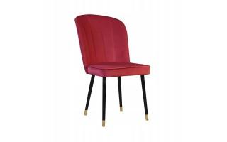 Krzesło tapicerowane MATYLDA z przeszyciami
