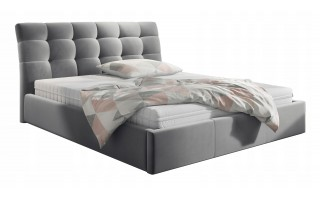 Łóżko tapicerowane FLOYD 160X200 + POJEMNIK