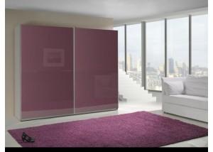 Szafa przesuwna fioletowy połysk Lux 7