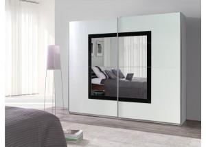 Nowoczesna szafa przesuwna z lustrem Lux 31