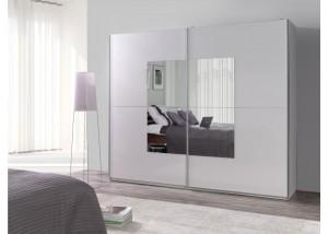 Nowoczesna szafa przesuwna z lustrem Lux 30