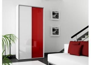 2-drzwiowa szafa przesuwna na wysoki połysk S15 180