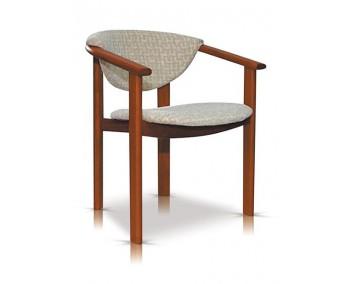 Fotel, krzesło z podłokietnikiem WENECJA