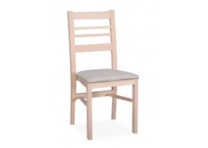 Klasyczne krzesło z drewnianym oparciem KT50