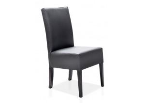 Nowoczesne czarne krzesła do jadalni KT19