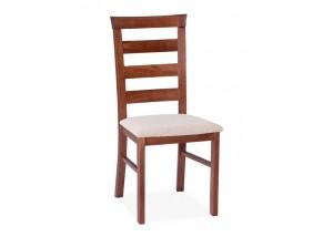 Nowoczesne krzesło z drewnianym oparciem KT11