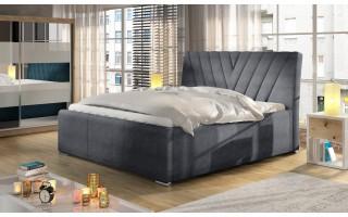 Łóżko tapicerowane do sypialni NEVADA