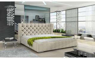 Łóżko tapicerowane do sypialni Preston