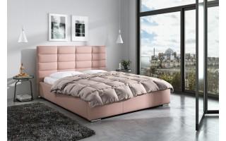 Tapicerowane łóżko Paris do sypialni