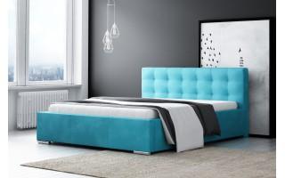 Łóżko tapicerowane do sypialni Diana + stelaż + materac Tango PROMOCJA