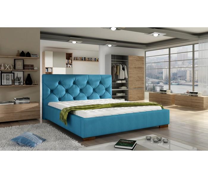 Tapicerowane łóżko Do Sypialni Elektra 160x200
