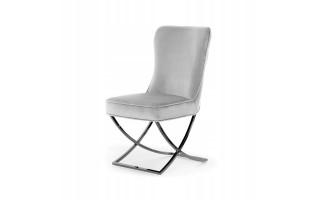 Krzesło SCARLET stylowe metalowa noga