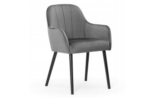 Krzesło tapicerowane TULIP PLUS drewniane nogi
