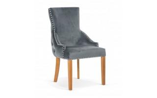 Krzesło EDWARD GLAMOUR drewniane nogi