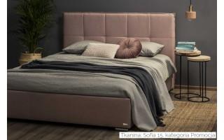 Łóżko tapicerowane do sypialni Cortina