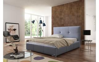 Łóżko tapicerowane do sypialni Lily