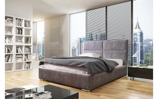Łóżko tapicerowane do sypialni Mike
