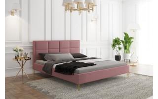 Stylowe łóżko do sypialni FOKUS