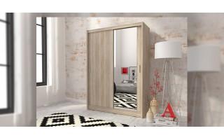 2- drzwiowa szafa z dużym lustrem Maja