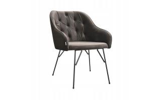 Fotel Krzesło ALBIT SPIDER na metalowych nogach
