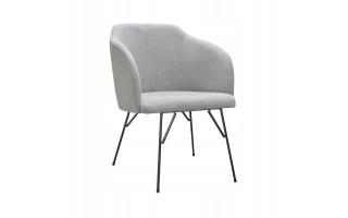 Fotel Krzesło CLIO SPIDER na metalowych nogach