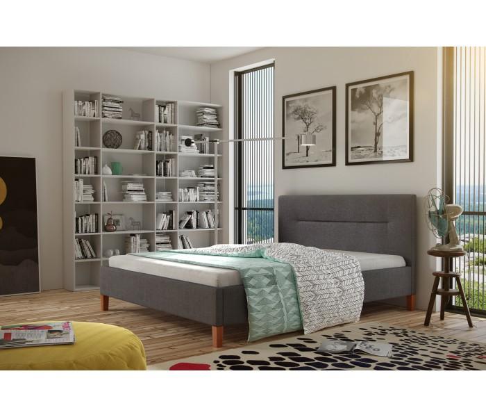 Stylowe łóżko do sypialni Karolina