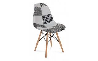 Nowoczesne Krzesło Amy Patchwork