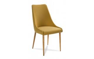 Nowoczesne krzesło tapicerowane Olivier w stylu skandynawskim