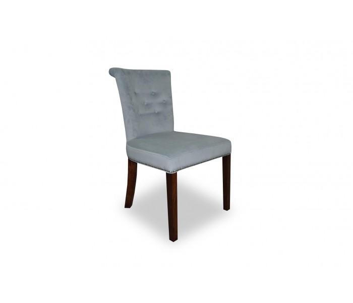 Chłodny Pikowane Krzesło tapicerowane Largo z pinezkami TL71