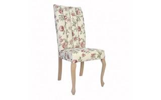 Tapicerowane Krzesło z przeszyciami Kate