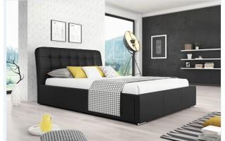 Stylowe łóżko do sypialni Dawid