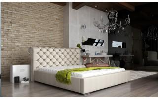 Łóżko tapicerowane do sypialni Manchester 160X200