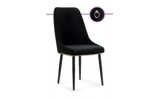 Nowoczesne krzesło tapicerowane Olivier