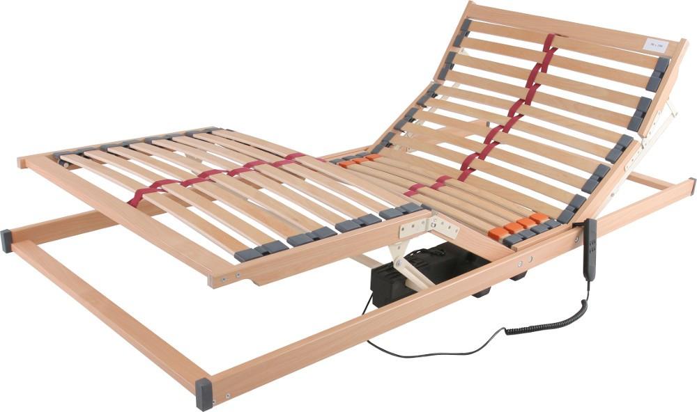 Stelaż Elektryczny Z Pilotem Do łóżka Tapicerowanego Drewnianego