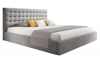 Łóżko tapicerowane VERO 140X200 z pojemnikiem